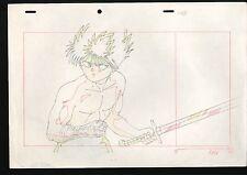 Japanese Animation Douga Production Original Yu Yu Hakusho Hiei Limited #198