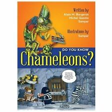 Do You Know Chameleons?, Bergeron, Alain, New Books
