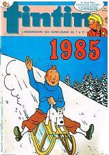 B19- Tintin N°486 Bonne année 1985