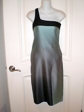 Narciso Rodriguez Ombre Shadow Silk Dress~Made In Italy~  sz 42/ US 6-8