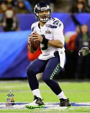 2014 Super Bowl XLVIII RUSSELL WILSON Seattle Seahawks LICENSED 8x10 photo