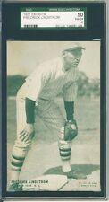 1927 Exhibit,Lindstrom,NY Giants,SGC50,HOF,3 Higher