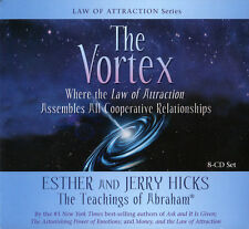 Abraham-Hicks Esther 8 CDs The Vortex (Audio Book) - NEW