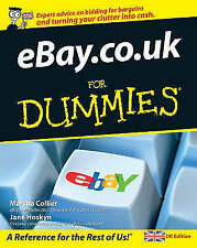 eBay.co.uk for Dummies, UK edition, Marsha Collier, Jane Hoskyn, Very Good Book