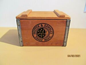 Proctor & Gamble Vintage Wood Ivory Soap Box Crate
