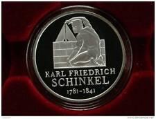 """10 Euro - Deutschland - 2006 Silber  in Polierte Platte """"Karl Friedrich Schinkel"""