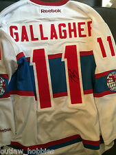 Montreal Canadiens Brendan Gallagher Signed Autographed L NHL Jersey COA BNWT