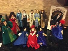 Gone With The Wind Collection World Doll Rhett Scarlett Melanie Ashley Lot of 12