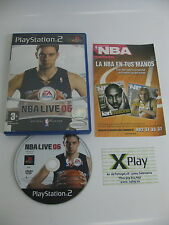 PS2 NBA Live 06 Pal España no manual Envio combinable