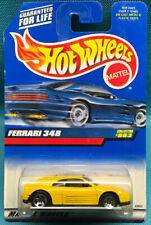 1999 Mattel Hot Wheels Collectors #993 Yellow Ferrari 348