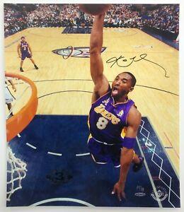 "Kobe Bryant 2002 NBA Finals 16x20"" photo W/3 Time Champ Logo- PenCam Upper Deck"