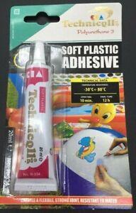 soft plastic Vinyl Pool Repair Kit - Under Water Inflatables 20ml Glue Adhesive