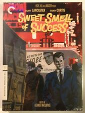 SWEET SMELL OF SUCCESS Burt Lancaster, Tony Curtis - Criterion MINT NEW DVDS!!