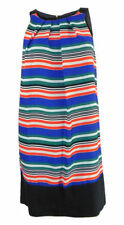 Zara Striped Sleeveless Tunic Dresses for Women