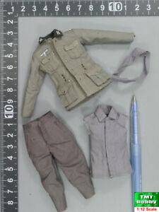 1:12 Scale POPTOYS BGS001 WWII German Skinny Guy Franz - Uniform Set