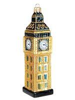 Big Ben Clock London England Polish Blown Glass Christmas Ornament Decoration
