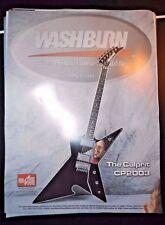 Dimebag Darrell Poster Culprit CP2003 Washburn Guitar Pantera New Old Stock