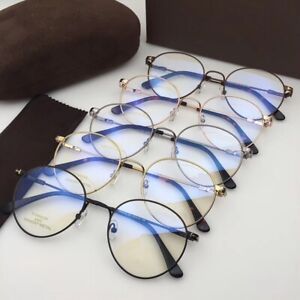 Tom For Brand Optical Eyeglasses Frames TF5418 Forde Metal Men Women Original