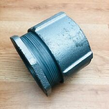 """CROUSE HINDS 4""""INCH 3 THREE PIECE CONDUIT COUPLING RIGID"""