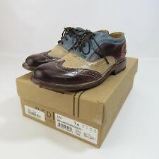 Bed Stu Cobbler Series Lita Shoes Women's Size 7 Leather Wingtips Eur 37 Oxfords