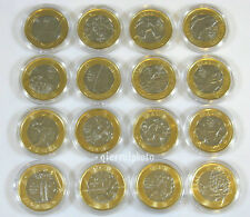Rio 2016 Olympic Games 16-Coin Collection