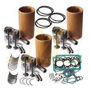 Rebuild Kit for Mitsubishi L3E Engine MM20CR MM20SR MM20 MM20T MX15 GF130PYS1W