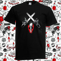 New Eminem Shady XV Album Jason Cover Rap Hip Hop Men's Black T-Shirt Size S-3XL