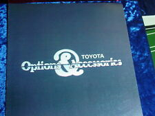 1978 TOYOTA ACCESSORIES BROCHURE -CELICA-COROLLA-CORONA-PICKUP-LAND CRUISER