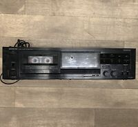 Onkyo TA-R240 Stereo Cassette Tape Deck Auto Reverse Dolby Recorder 2 Head