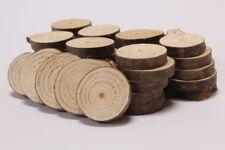 DOUGLASIE Holzscheiben Astscheiben Baumscheiben Deko 40 Stück 4-6 cm