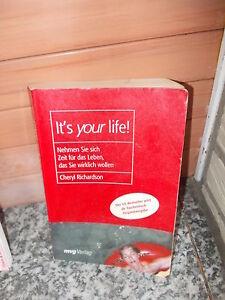 It's your life!, von Cheryl Richardson, aus dem mvg Verlag