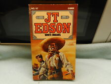 Vintage Western Book J T Edson White Indians