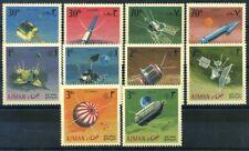 Ajman 1968 Mi. 257A-266A Neuf ** 100% exploration de l'espace
