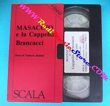 film VHS cartonata MASACCIO E LA CAPPELLA BRANCACCI Umberto Baldini(F97)  no dvd