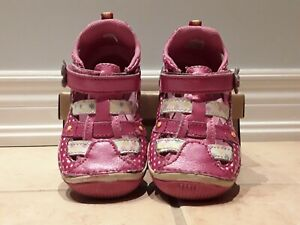 Stride Rite Baby Girl Pink Shoes Size 7