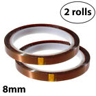 2x Sublimation Tape Heat resistant, No Smell-Thermal Tape-8mm By INNOSUB
