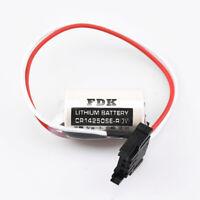 For Sanyo FDK CR14250SE 1747-BA PLC Battery with 3P Plug 3V