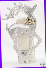 1 Bath & Body Works Wallflower SILVER GLITTER REINDEER Diffuser Unit Plug Holder