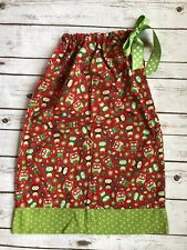 Boutique Christmas Holiday Owl Dress Tunic 5 6 7