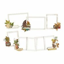 Simple Stories - Autumn Splendor Collection - Die-Cut Layered Frames