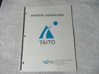 TAITO PART CATALOG  OPERATION WOLF  arcade game manual