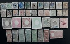 RARE 1897- Philippines lot of  37 Postage Revenue & Official stamps Mint / Used