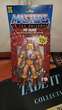 MASTERS OF THE UNIVERSE Origins HE-MAN Action Figure Retro Toy Exclusive  New