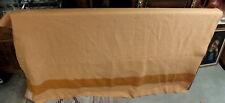 Hudson's Bay Wool Blanket (Vintage) Orange Stripes On Orange Background MS29