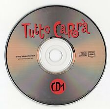 "RAFFAELLA CARRA ""TUTTO CARRA"" RARE SPANISH 2CD SET / SPANISH EDITION WITH BIO"