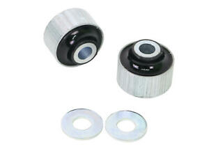 Whiteline Rear Control Arm Upper Outer Bushing Kit fits 09/02+ Ford Focus