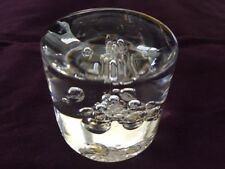 "Kosta Warff Paperweight 97044 Vintage Glass 2.3""Tall.-B444"