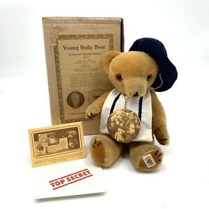 """VTG Nisbet Young Bully Bear 11"""" Vintage LE/5000 #3092 British Made VERY RARE"""
