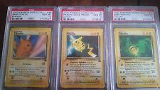 Pikachu World Collection Pokemon Cards PSA Gem Mint 10