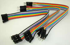 Pack 30 Dupont Prototype Cable Female/Male Hembra/Macho 200mm Arduino